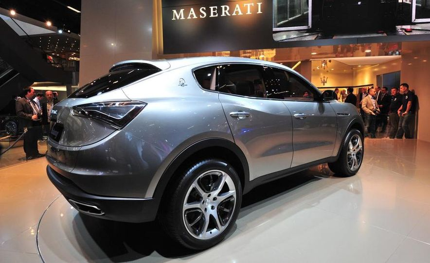 Maserati Kubang concept - Slide 7