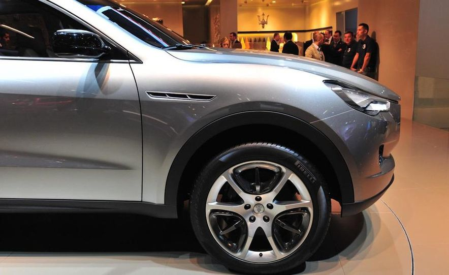 Maserati Kubang concept - Slide 8