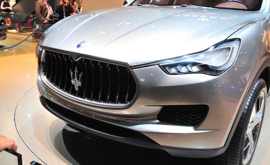 Maserati Kubang concept - Slide 9