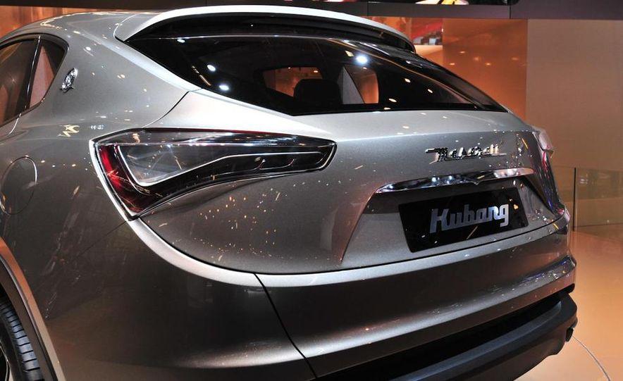 Maserati Kubang concept - Slide 13