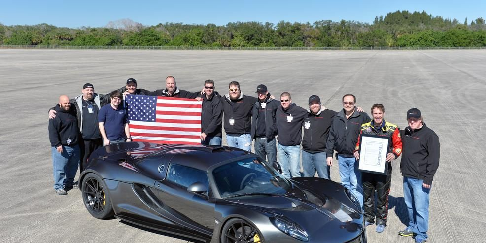 It Ain't Over, Bugatti: Hennessey Venom GT Does 270.49 mph, Claims World Record