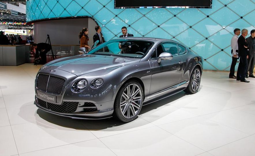 2015 Bentley Continental GT Speed coupe - Slide 1