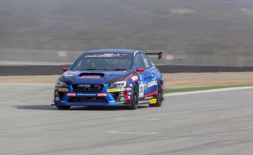 Subaru WRX STI SP3T race car - Slide 1