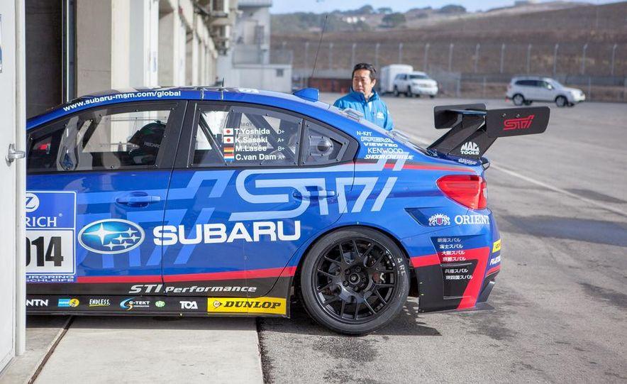 Subaru WRX STI SP3T race car - Slide 17