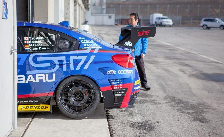 Subaru WRX STI SP3T race car - Slide 18