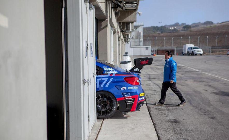 Subaru WRX STI SP3T race car - Slide 19