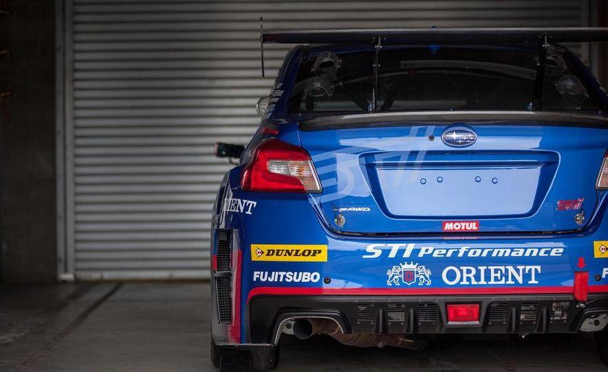 Subaru WRX STI SP3T race car - Slide 21