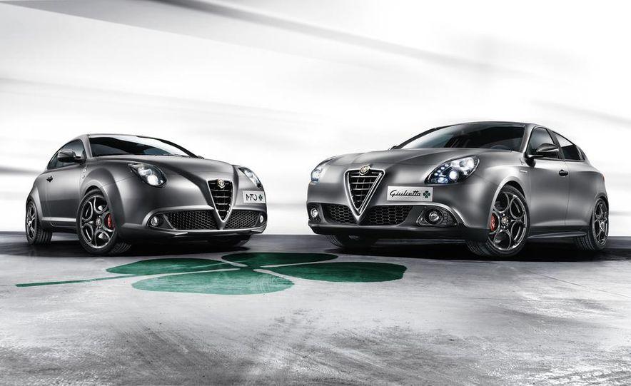 2014 Alfa Romeo MiTo Quadrifoglio Verde and Giulietta - Slide 1