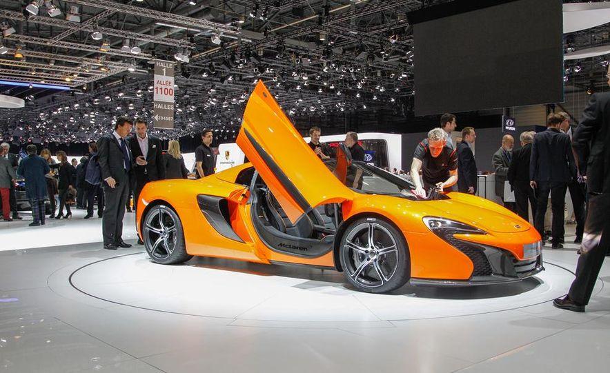 2015 McLaren 650S Spider - Slide 8
