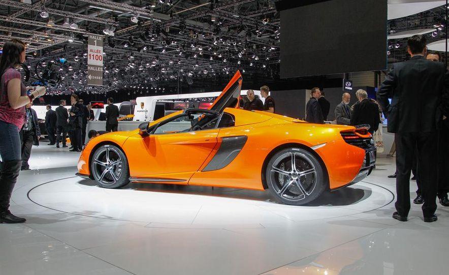 2015 McLaren 650S Spider - Slide 10