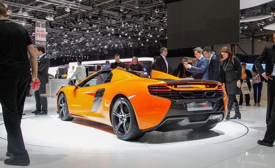 2015 McLaren 650S Spider - Slide 11
