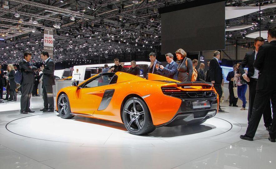 2015 McLaren 650S Spider - Slide 12