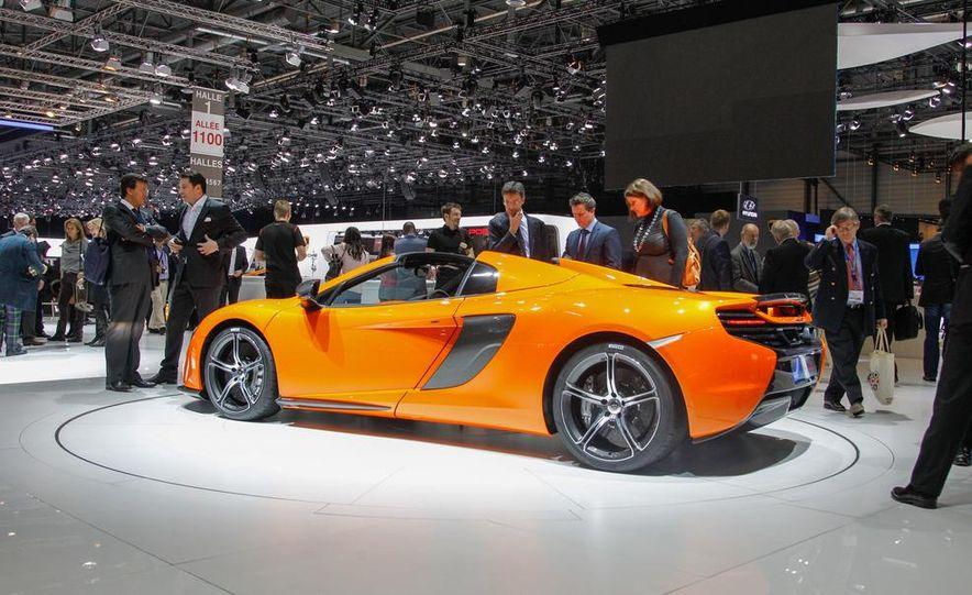 2015 McLaren 650S Spider - Slide 13