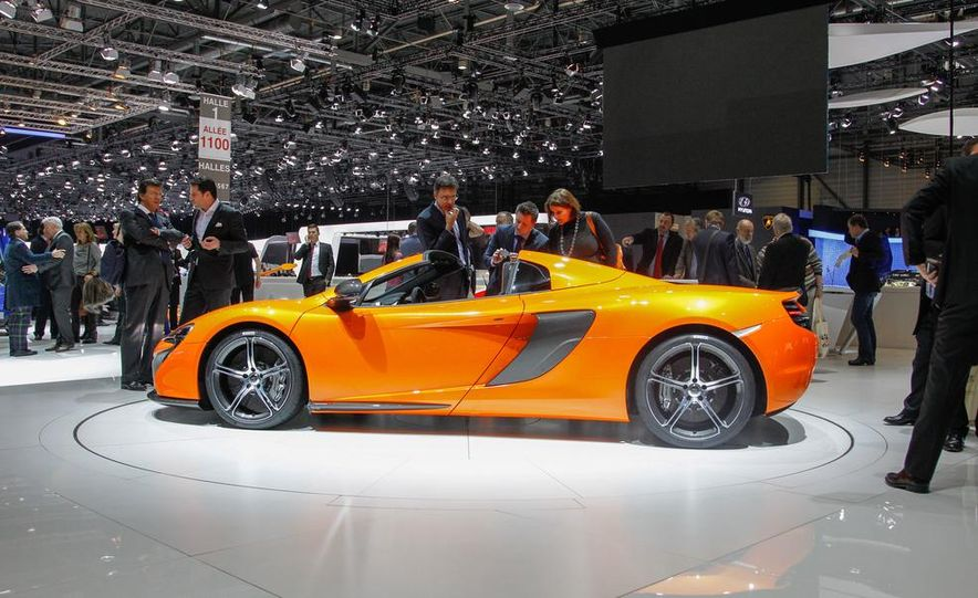 2015 McLaren 650S Spider - Slide 14