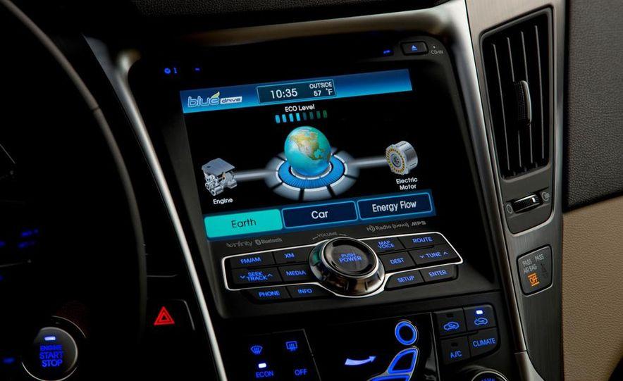 2013 Hyundai Sonata hybrid - Slide 18