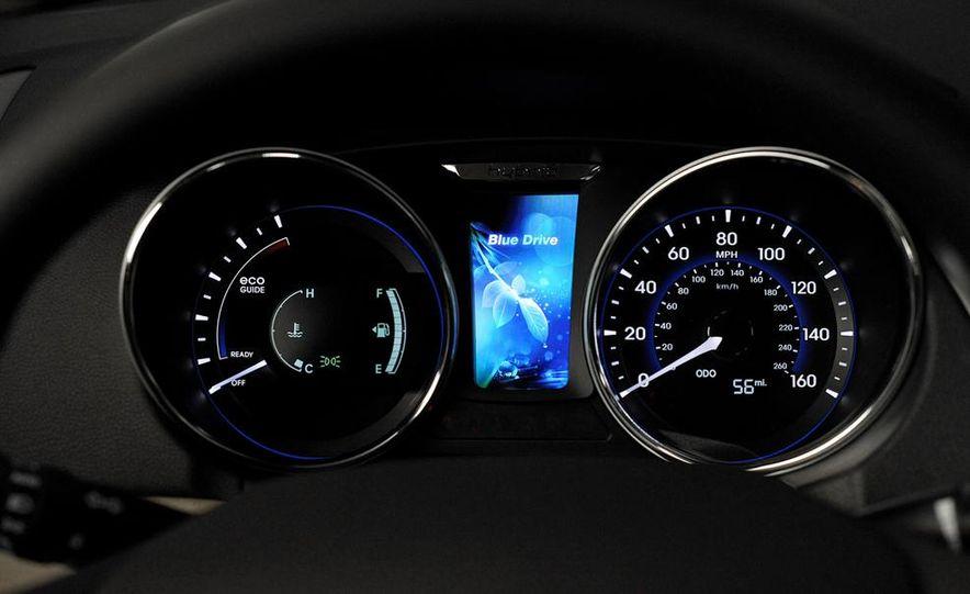 2013 Hyundai Sonata hybrid - Slide 14