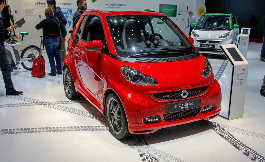 Smart Fortwo Brabus Xclusive Red Edition - Slide 1