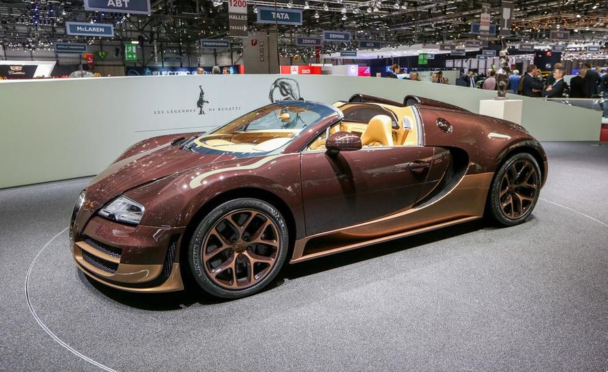 Bugatti Veyron Rembrandt Legends Edition - Slide 1