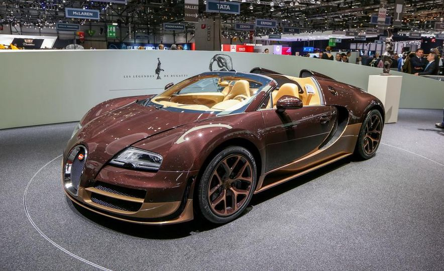 Bugatti Veyron Rembrandt Legends Edition - Slide 2