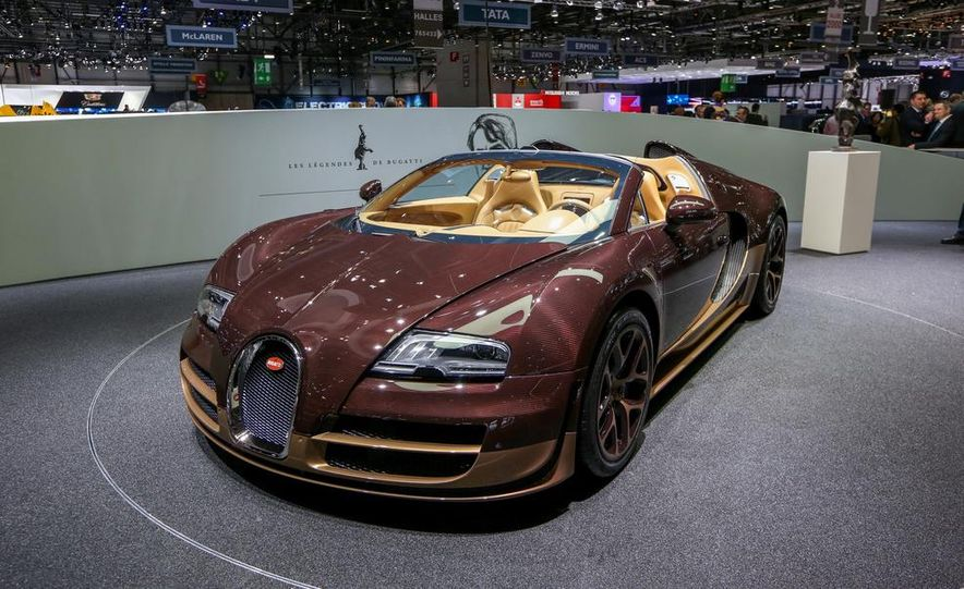 Bugatti Veyron Rembrandt Legends Edition - Slide 3