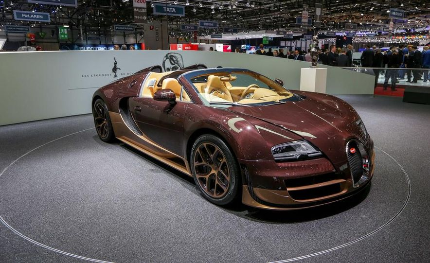 Bugatti Veyron Rembrandt Legends Edition - Slide 8