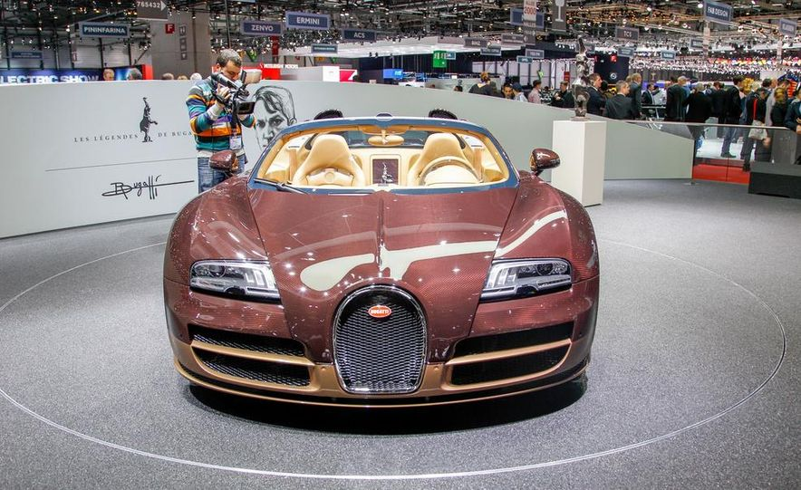 Bugatti Veyron Rembrandt Legends Edition - Slide 13