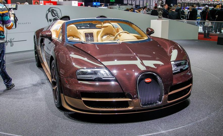 Bugatti Veyron Rembrandt Legends Edition - Slide 14