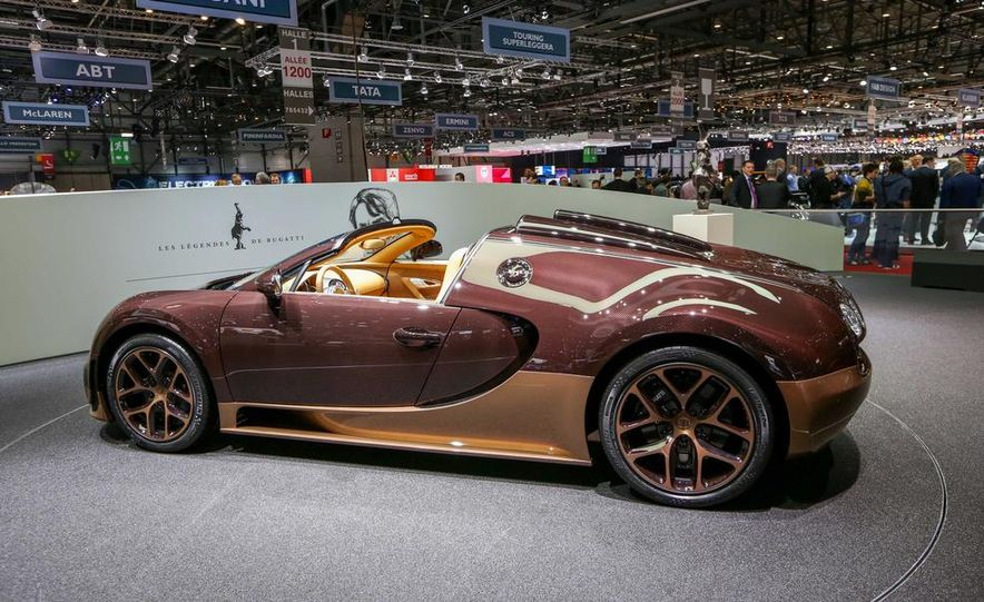 Bugatti Veyron Rembrandt Legends Edition - Slide 16