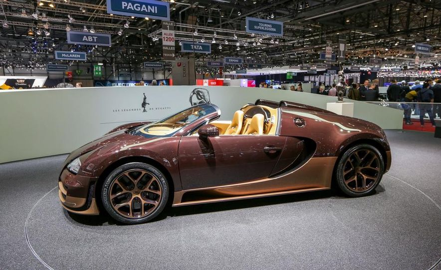 Bugatti Veyron Rembrandt Legends Edition - Slide 19