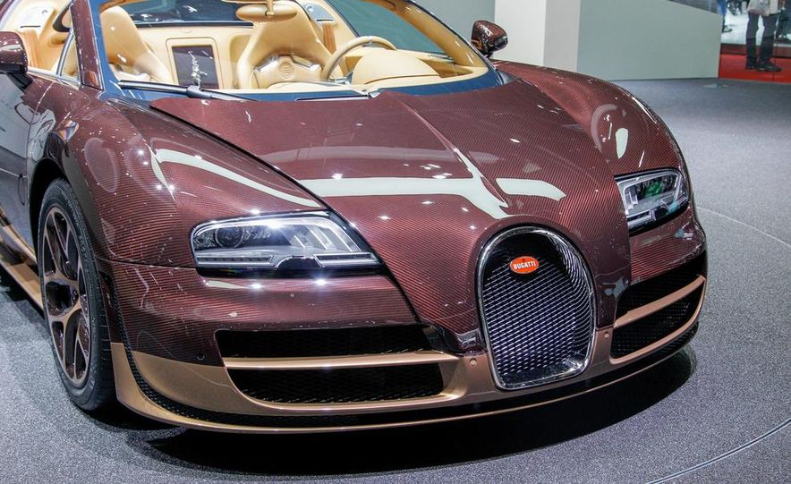 Bugatti Veyron Rembrandt Legends Edition - Slide 24