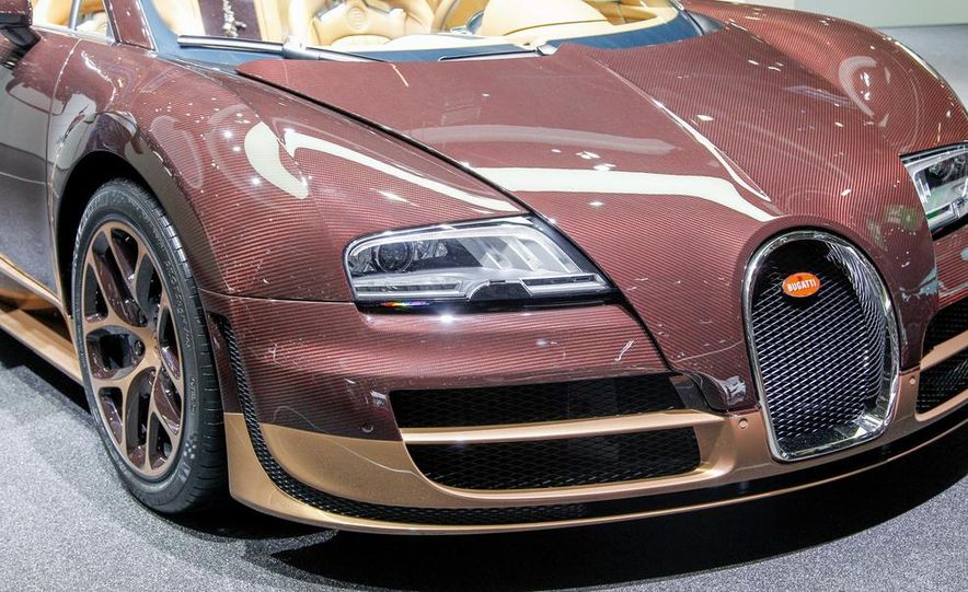 Bugatti Veyron Rembrandt Legends Edition - Slide 25