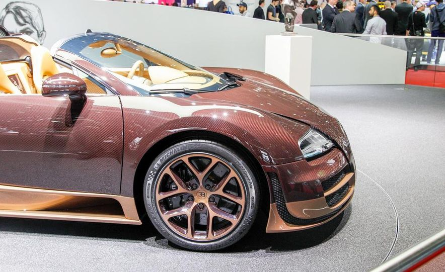Bugatti Veyron Rembrandt Legends Edition - Slide 28