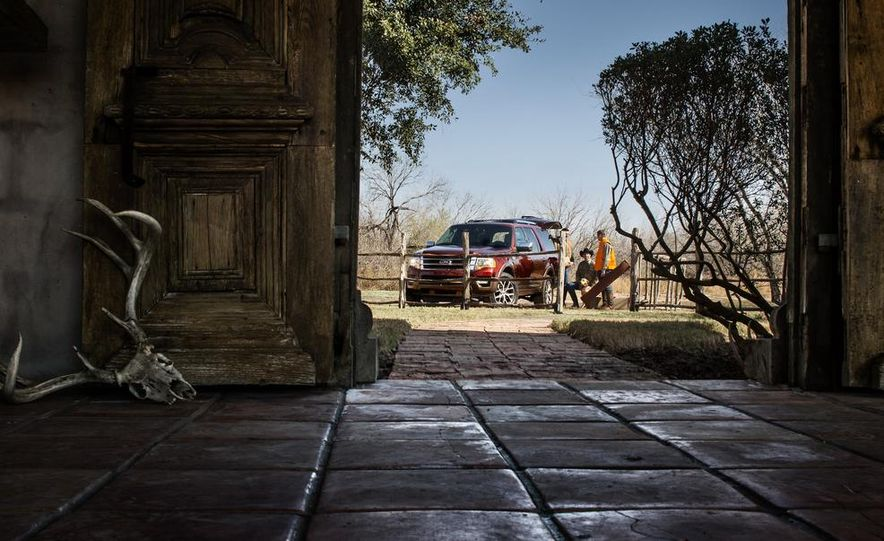 2015 Ford Expedition King Ranch, F-350 Super Duty King Ranch Crew Cab, F-250 Super Duty King Ranch Crew Cab, and F-150 King Ranch Crew Cab - Slide 14