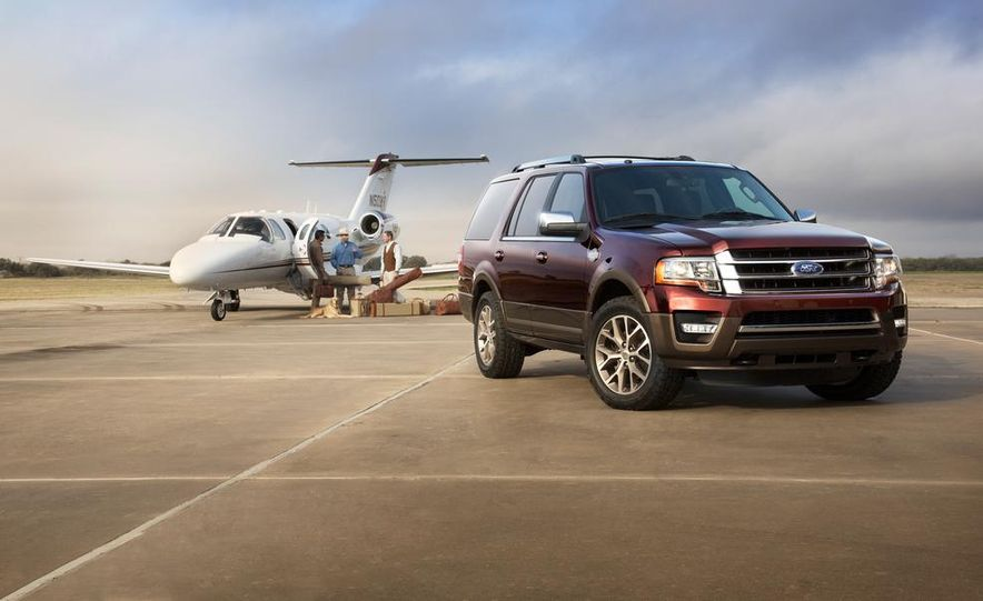 2015 Ford Expedition King Ranch, F-350 Super Duty King Ranch Crew Cab, F-250 Super Duty King Ranch Crew Cab, and F-150 King Ranch Crew Cab - Slide 15