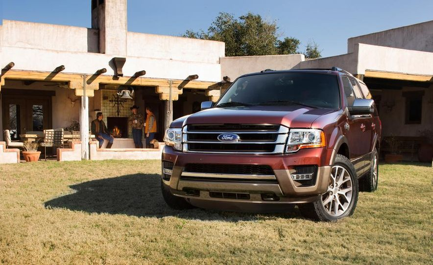 2015 Ford Expedition King Ranch, F-350 Super Duty King Ranch Crew Cab, F-250 Super Duty King Ranch Crew Cab, and F-150 King Ranch Crew Cab - Slide 16