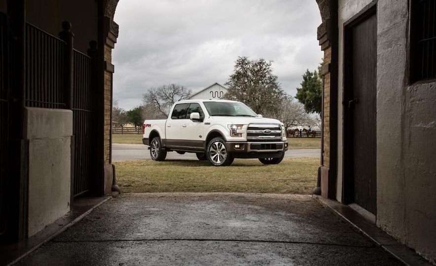 2015 Ford Expedition King Ranch, F-350 Super Duty King Ranch Crew Cab, F-250 Super Duty King Ranch Crew Cab, and F-150 King Ranch Crew Cab - Slide 10