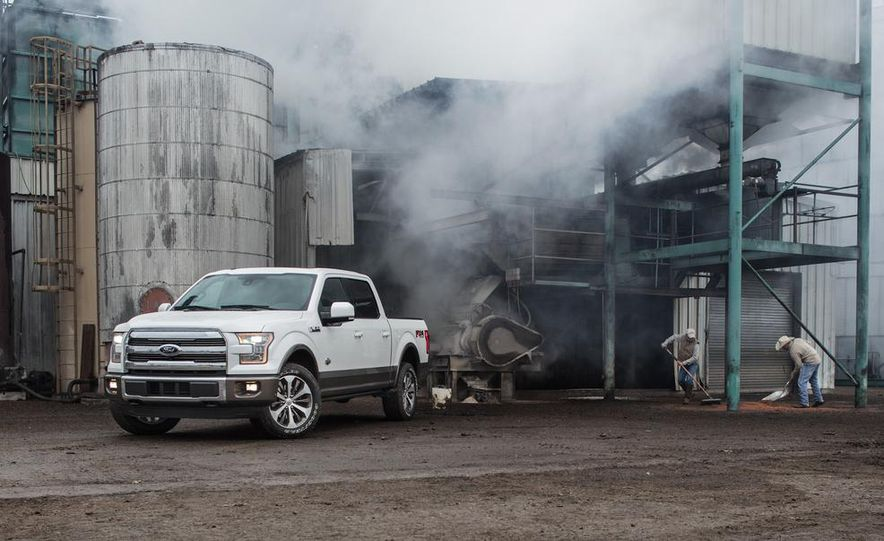 2015 Ford Expedition King Ranch, F-350 Super Duty King Ranch Crew Cab, F-250 Super Duty King Ranch Crew Cab, and F-150 King Ranch Crew Cab - Slide 12