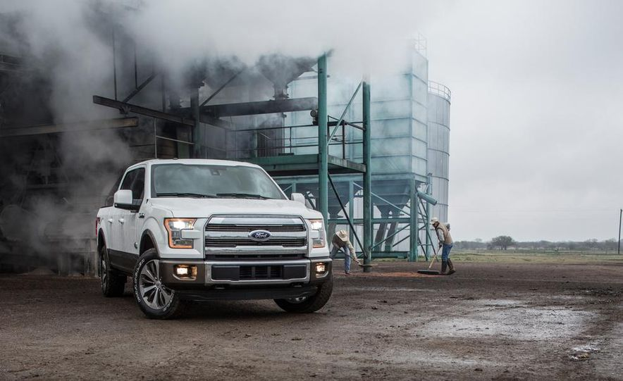 2015 Ford Expedition King Ranch, F-350 Super Duty King Ranch Crew Cab, F-250 Super Duty King Ranch Crew Cab, and F-150 King Ranch Crew Cab - Slide 13