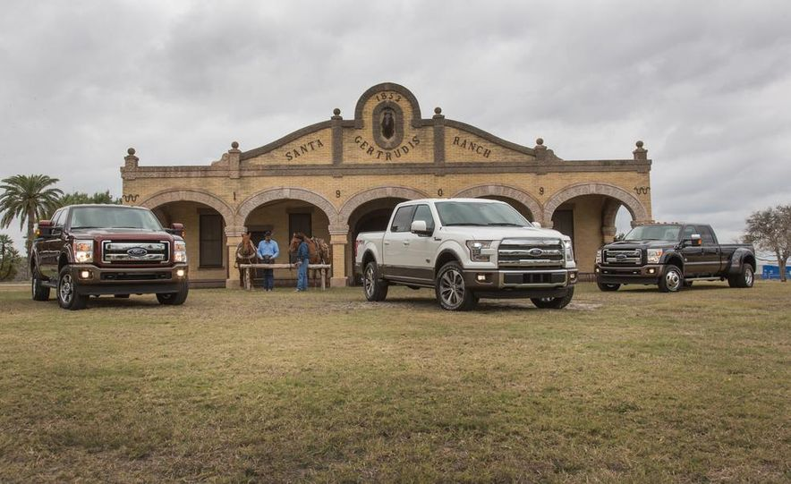 2015 Ford Expedition King Ranch, F-350 Super Duty King Ranch Crew Cab, F-250 Super Duty King Ranch Crew Cab, and F-150 King Ranch Crew Cab - Slide 2