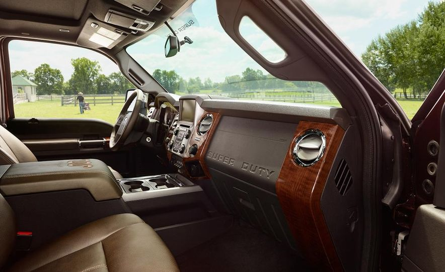 2015 Ford Expedition King Ranch, F-350 Super Duty King Ranch Crew Cab, F-250 Super Duty King Ranch Crew Cab, and F-150 King Ranch Crew Cab - Slide 8