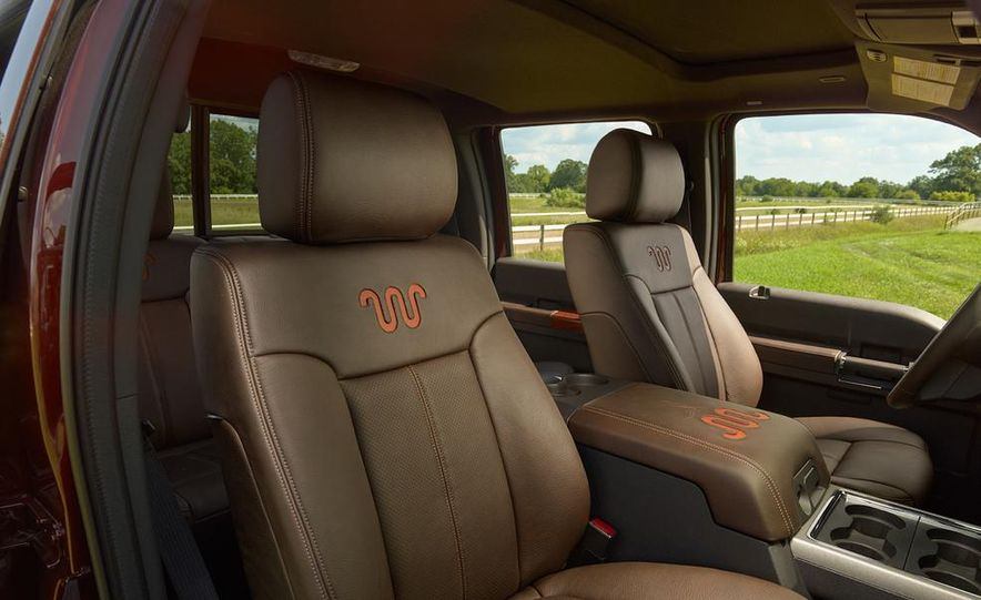 2015 Ford Expedition King Ranch, F-350 Super Duty King Ranch Crew Cab, F-250 Super Duty King Ranch Crew Cab, and F-150 King Ranch Crew Cab - Slide 9