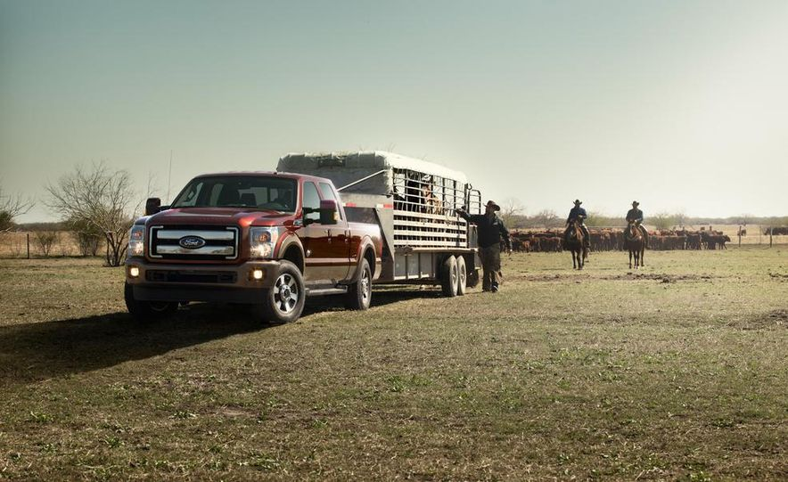 2015 Ford Expedition King Ranch, F-350 Super Duty King Ranch Crew Cab, F-250 Super Duty King Ranch Crew Cab, and F-150 King Ranch Crew Cab - Slide 4