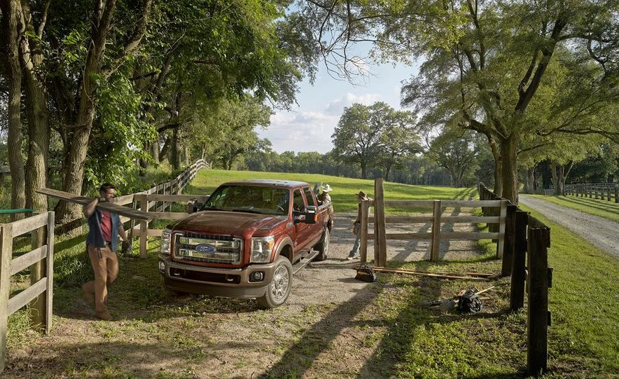 2015 Ford Expedition King Ranch, F-350 Super Duty King Ranch Crew Cab, F-250 Super Duty King Ranch Crew Cab, and F-150 King Ranch Crew Cab - Slide 5