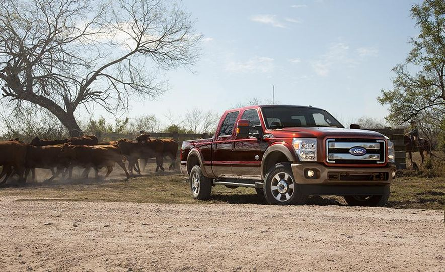 2015 Ford Expedition King Ranch, F-350 Super Duty King Ranch Crew Cab, F-250 Super Duty King Ranch Crew Cab, and F-150 King Ranch Crew Cab - Slide 6