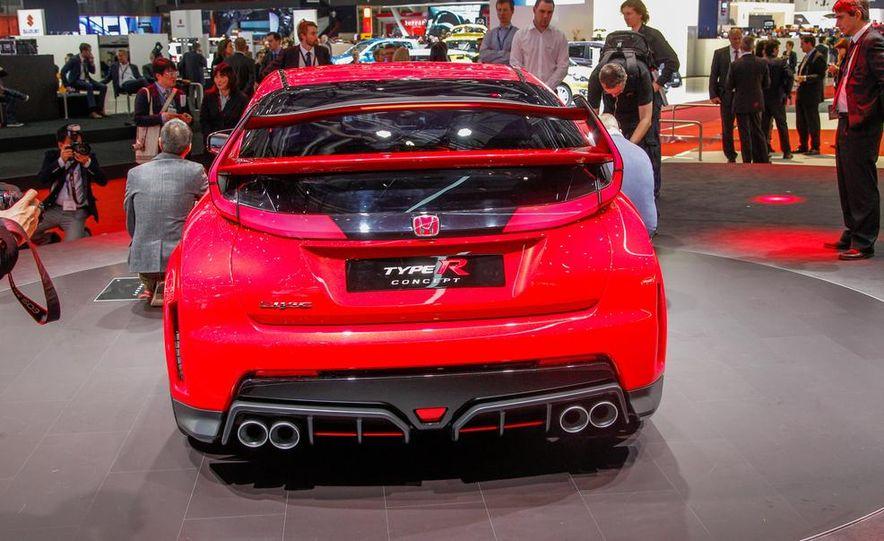 Honda Civic Type R concept - Slide 4