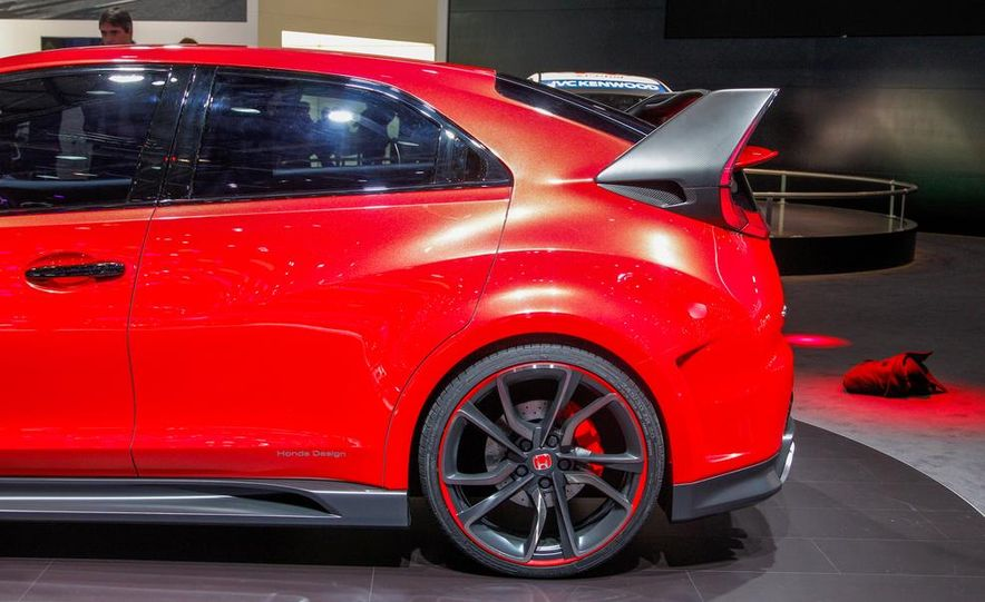 Honda Civic Type R concept - Slide 8