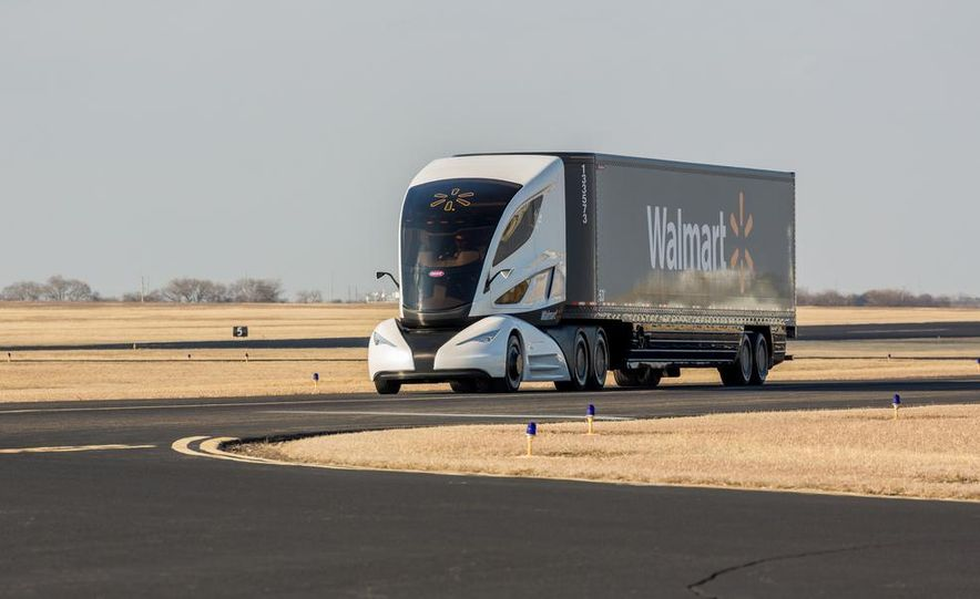 Walmart Advanced Vehicle Experience truck concept - Slide 1