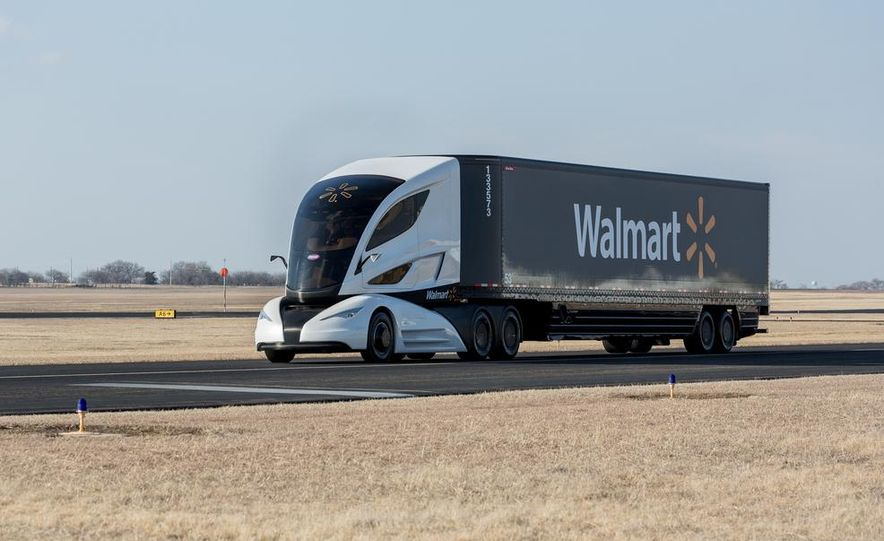 Walmart Advanced Vehicle Experience truck concept - Slide 2