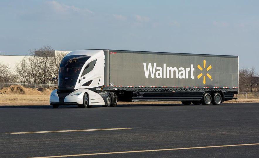 Walmart Advanced Vehicle Experience truck concept - Slide 5