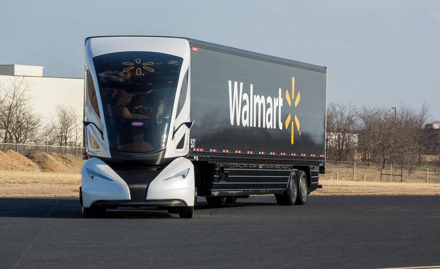 Walmart Advanced Vehicle Experience truck concept - Slide 6